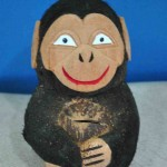 coconut carving toy